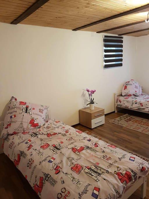 1. Zimmer für zwei Personen