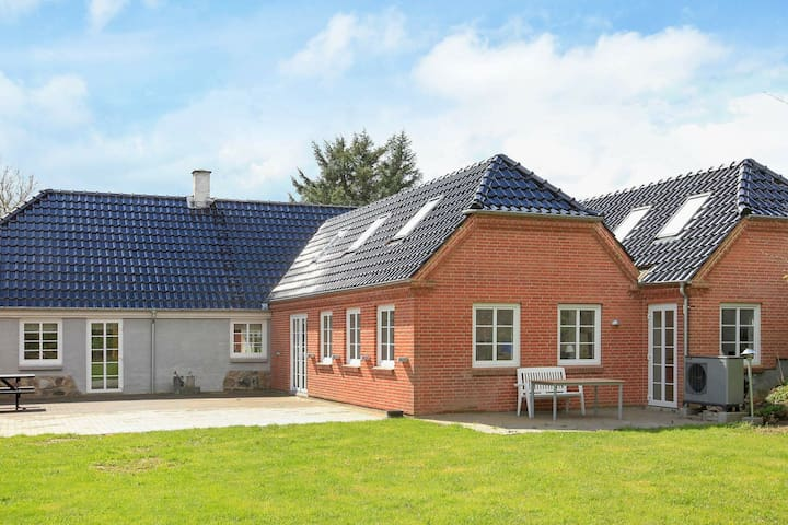 Spacious Holiday Home in Jutland with Sea nearby