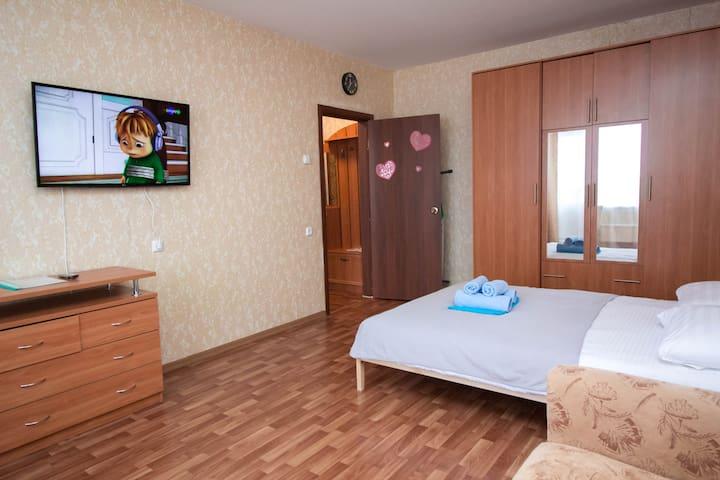 Уютная квартира ВГостиКнам Спортивная 4