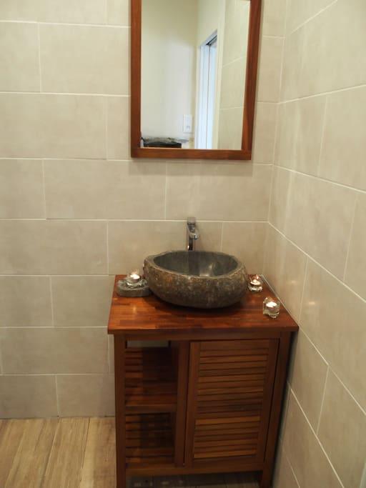 salle d'eau douche italienne