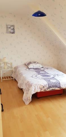 chambre à la campagne