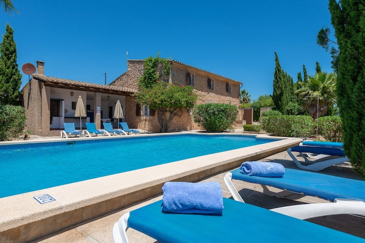 CAS PAGO - Great country house with private pool in a quiet rural environment Free WiFi