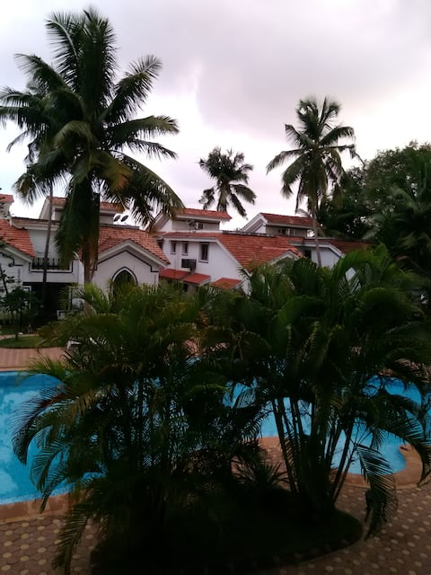 Apartment in North Goa.  Riviera Palms-I, Arpora.