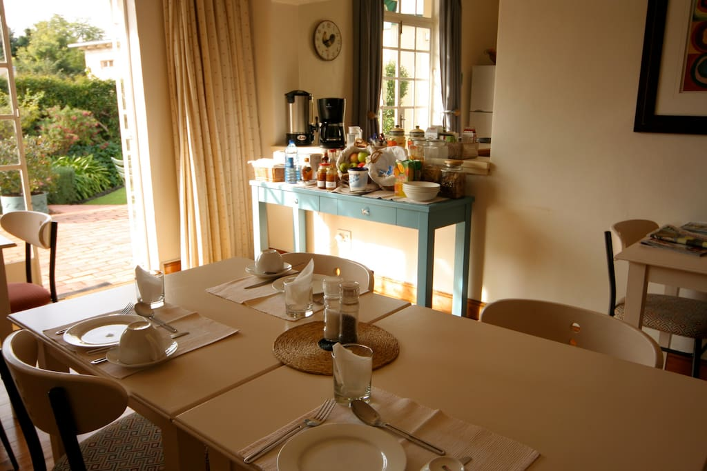 Breakfast served daily in the dining room