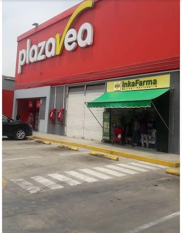 supermarket PLAZA VEA av santa rosa 300