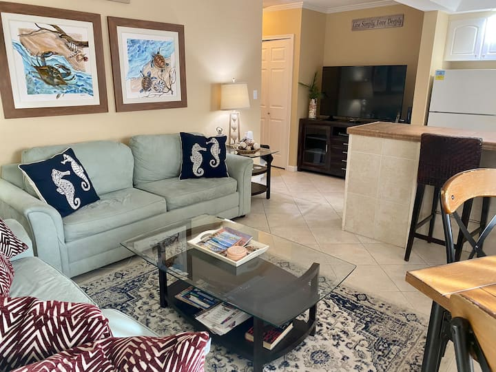 Beautiful Condo Across from The Gulf of Mexico