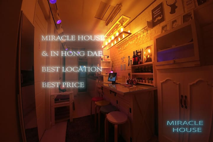 NEW1[Open SALE]HONGDAE MIRACLE HOUSE♡BEST LOCTION - Mapo-gu