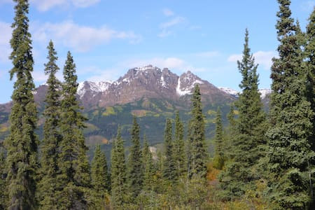 Stellar Views from Karma Ridge Home - Denali National Park and Preserve - Dom