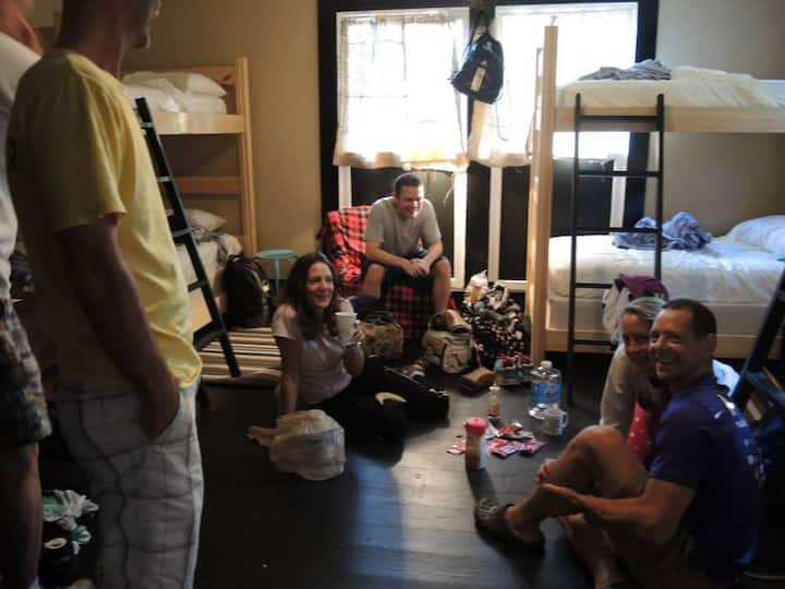 Group Bunk Room at the Hostel