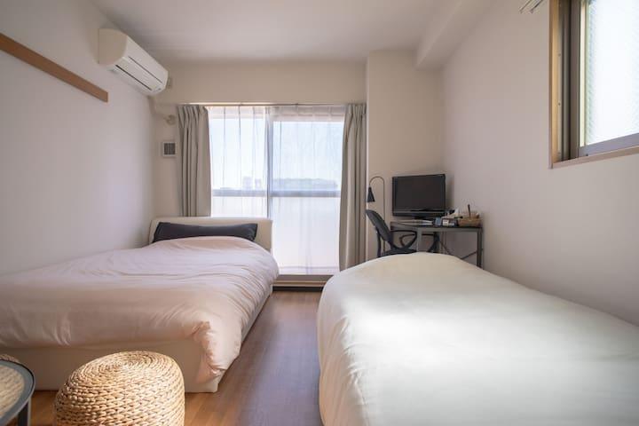 Useful get to Namba clean and comfortable flat7 - Naniwa-ku, Ōsaka-shi - Apartamento