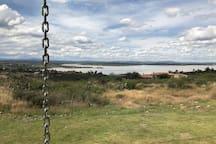 Vista a la Campiña de La Presa Allende