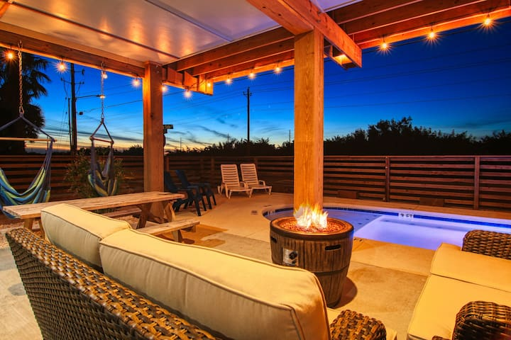 Stairway to Seven: Fire Pit, Private Pool, Close to Beach, Boat Parking