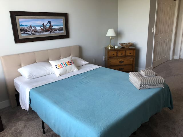 Private bed and bath in downtown Chattanooga