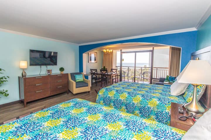 Poolside Suite with Ocean Views~Caravelle 506