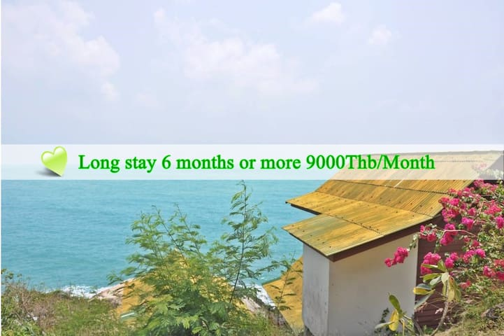 Double Bed Fan Bungalow  with Ocean View 101