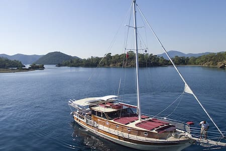 Great Yacht with 3 cabins up to 7 people - Göcek Belediyesi - Barco