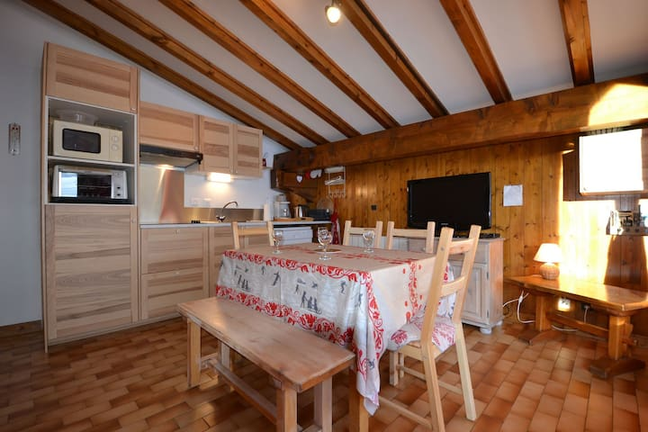 Apartment at the feet of Mont Rond chairlift