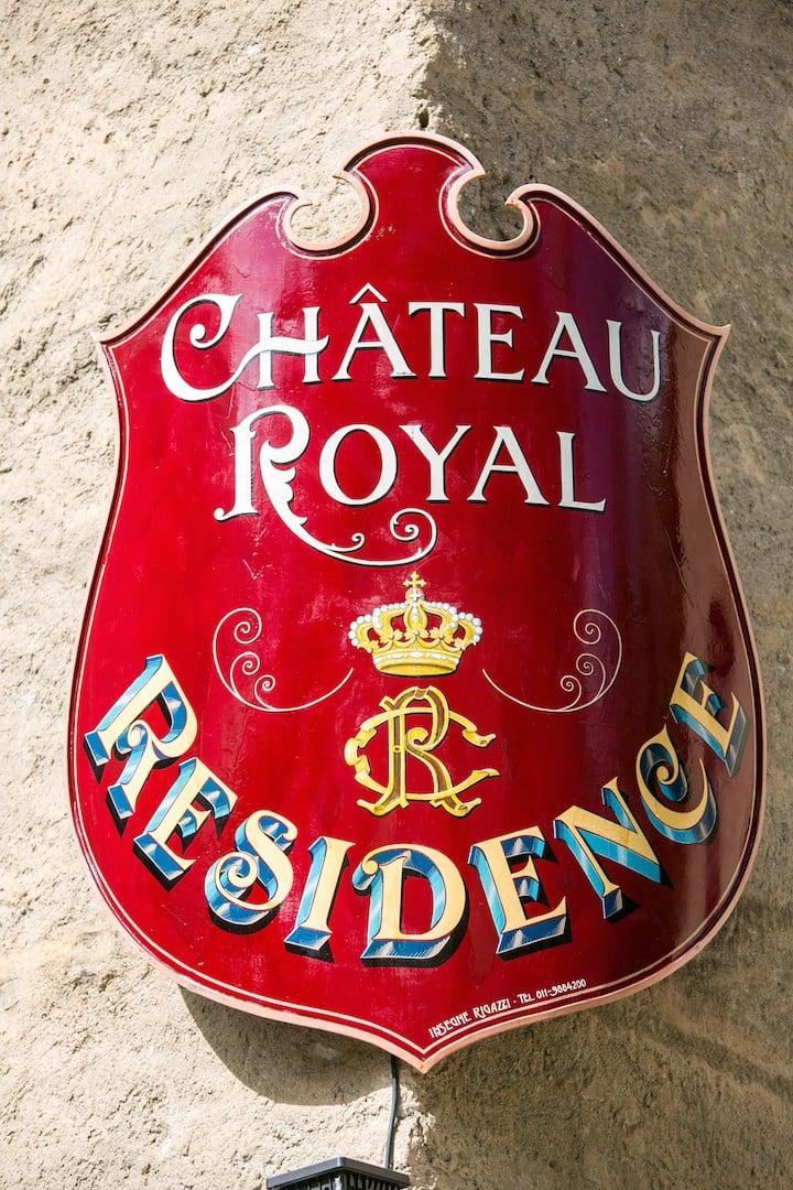 Château Royal - bilo superior vista Gran Paradiso