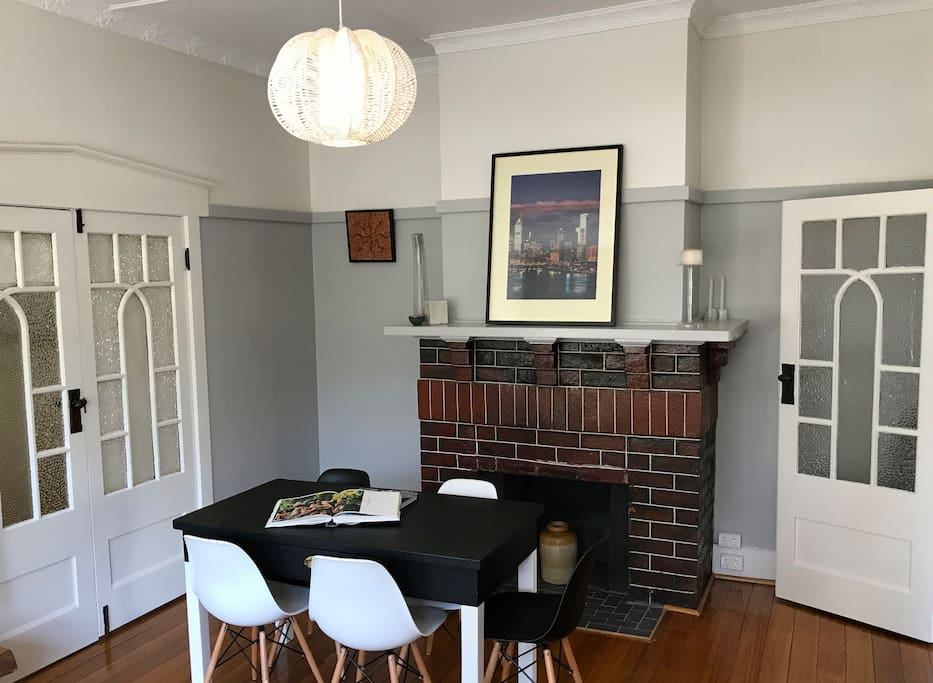 Dining table and original features