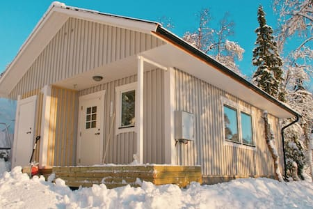 Holiday cottage with 2 bedrooms on 40m² in Dikanäs