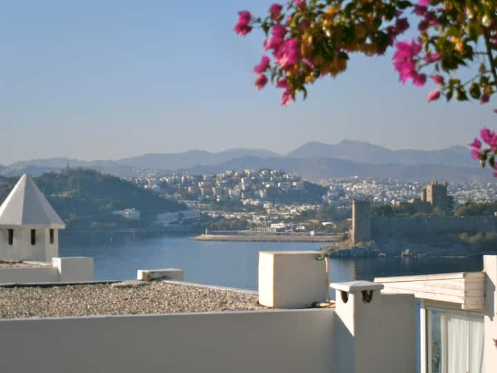 Castle View in Central Bodrum