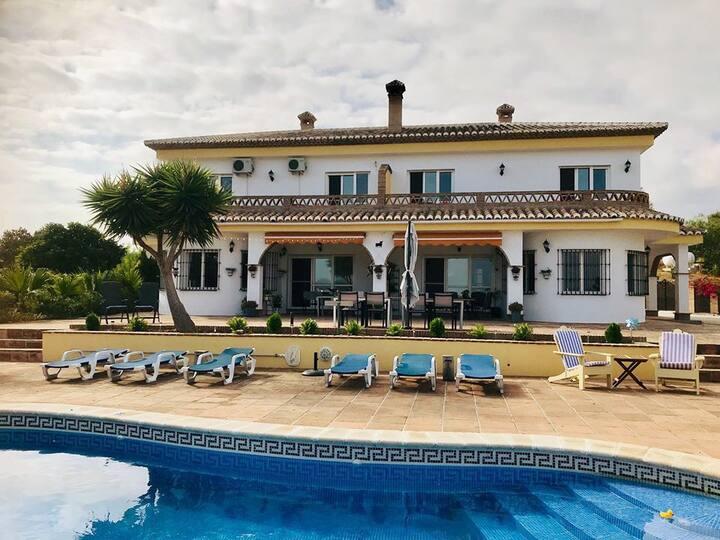 Casa nuestro sueño met een adembenemend uitzicht