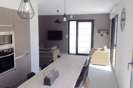 Gîte - Maison contemporaine - Saint-Aignan-Grandlieu - Talo