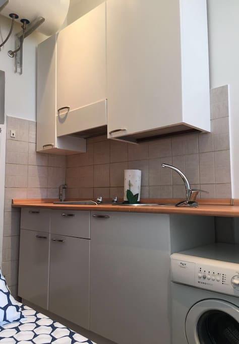 Big kitchen area to prepare your preferred food!