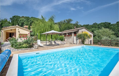 Nice apartment in Narni with Outdoor swimming pool and 1 Bedrooms