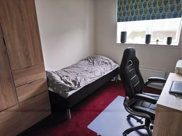Rummeligt værelse