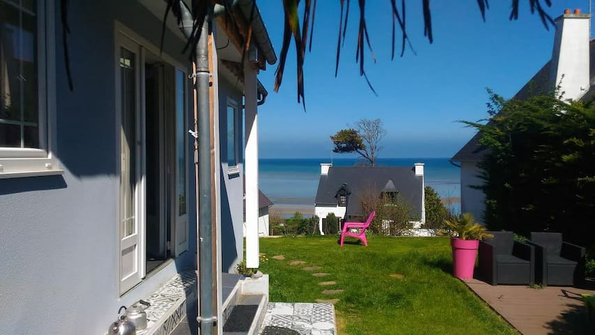 La maison bleue des trois plages - Plérin - Casa