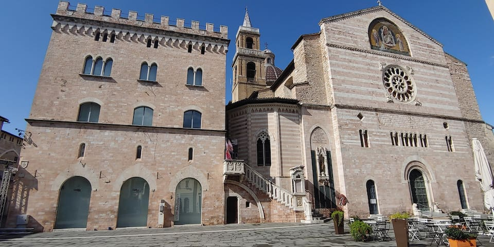 The main attractions in the heart of Umbria