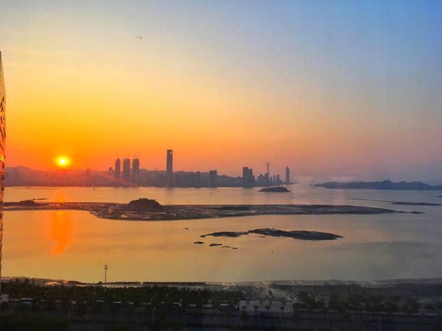 俯瞰鼓浪屿的整套Bulin Bulin 海景公寓 - 厦门市