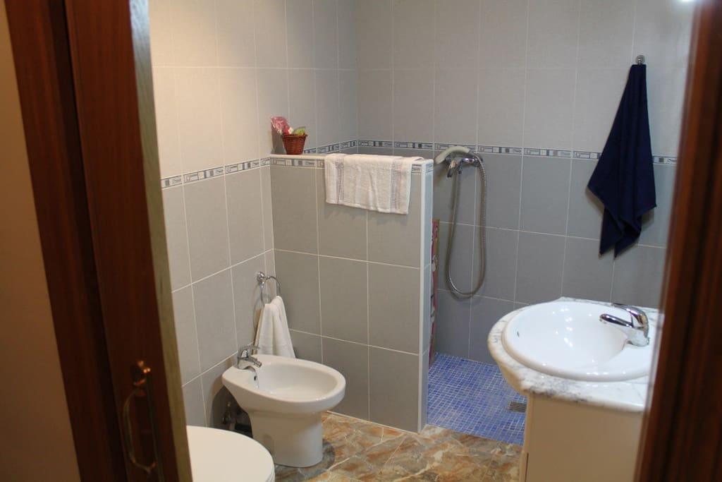 Baño en Habitación 1