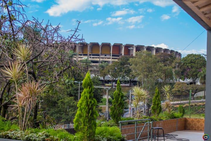Quarto Privado - Concreto Hostel  - UFMG \Mineirão