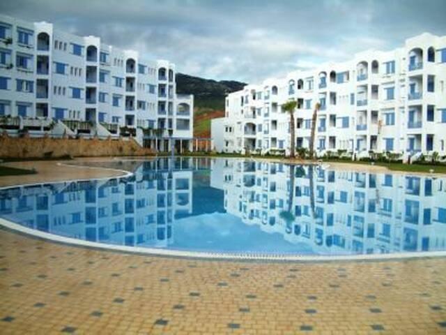 Appartement 2 chambres/Piscine/Plage Marina Smir