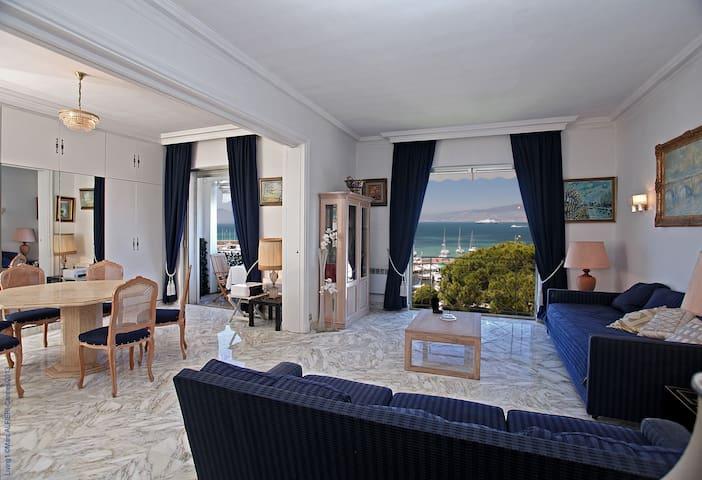 exceptionnelle vue mer Cannes-Palm-Beach - Канны - Квартира