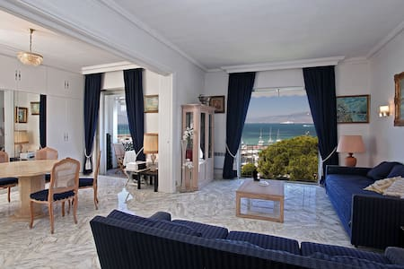 exceptionnelle vue mer Cannes-Palm-Beach - Cannes
