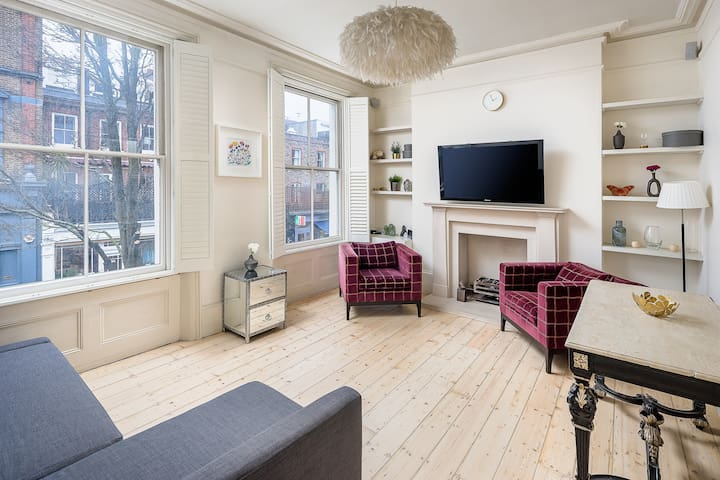 Spacious Chelsea Maisonette - Sleeps 6