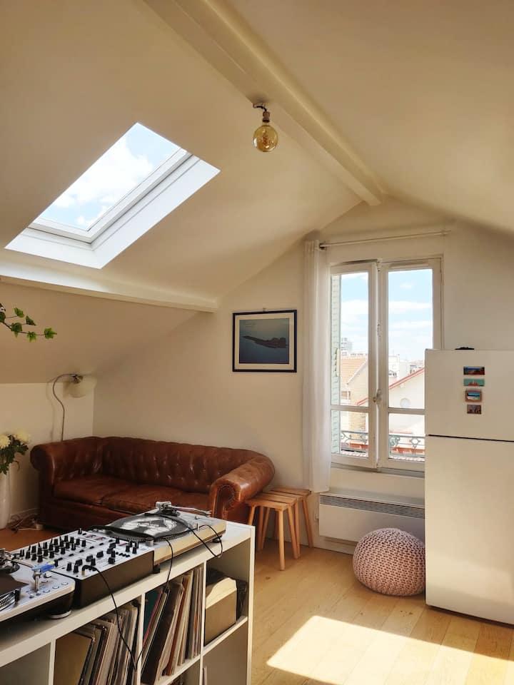 Appartement T2 (40m²) - proche de Paris