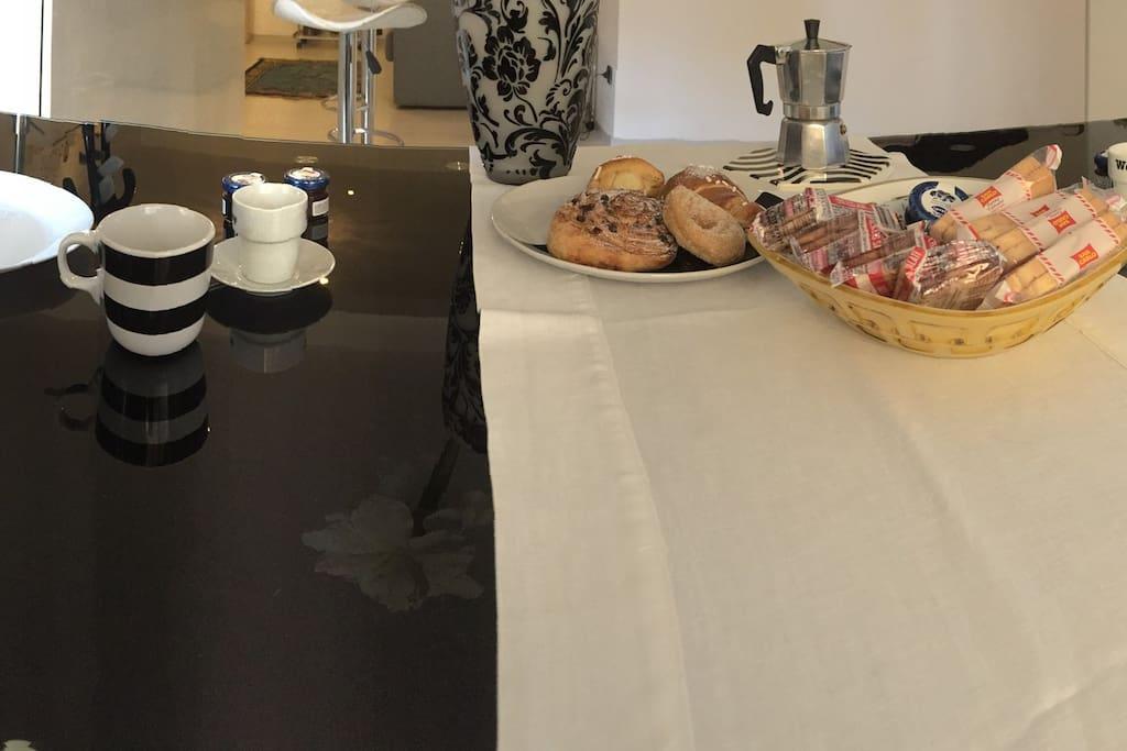 Zona colazione