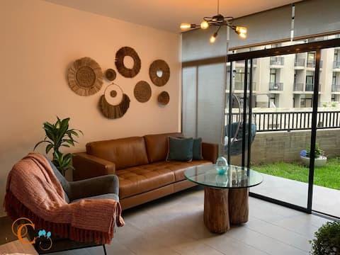 🐦🐦Casa de Aves🐦🐦Comfortable & Centric Apartment in a safe area - Santa Tecla - Condado Santa Rosa