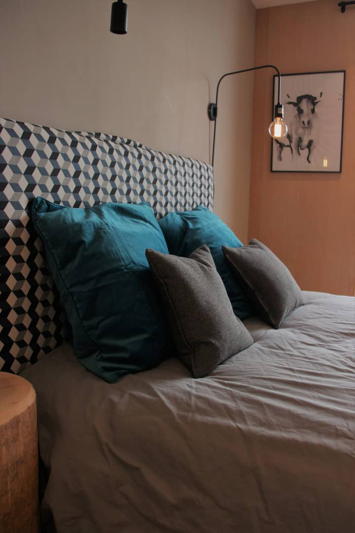 Beautiful appartment in Combloux for 2 to 4 people