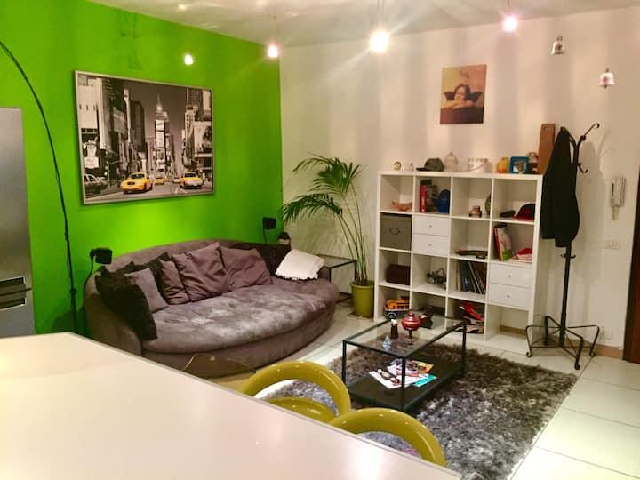 """Appartamento """"colors"""" centro storico di vicenza"""