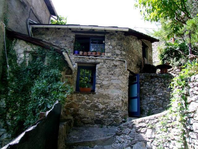 Saorge maison cœur du village