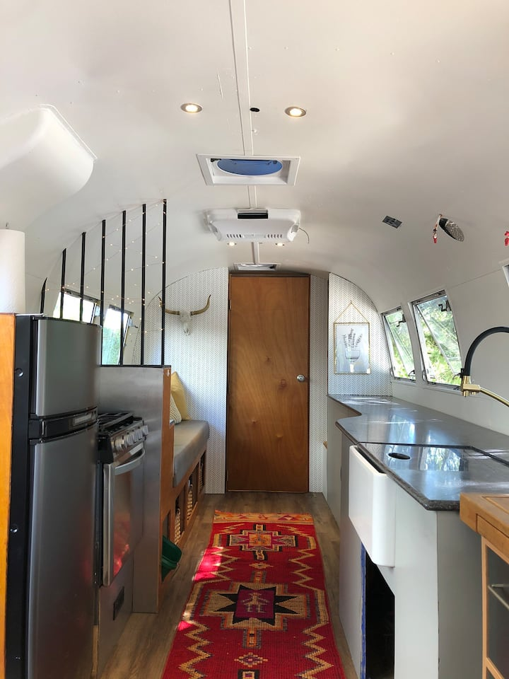 Historic Snohomish Vintage Airstream Getaway