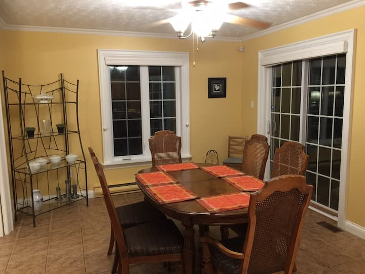 Upper level of home- 3 bedroom unit - pets welcome