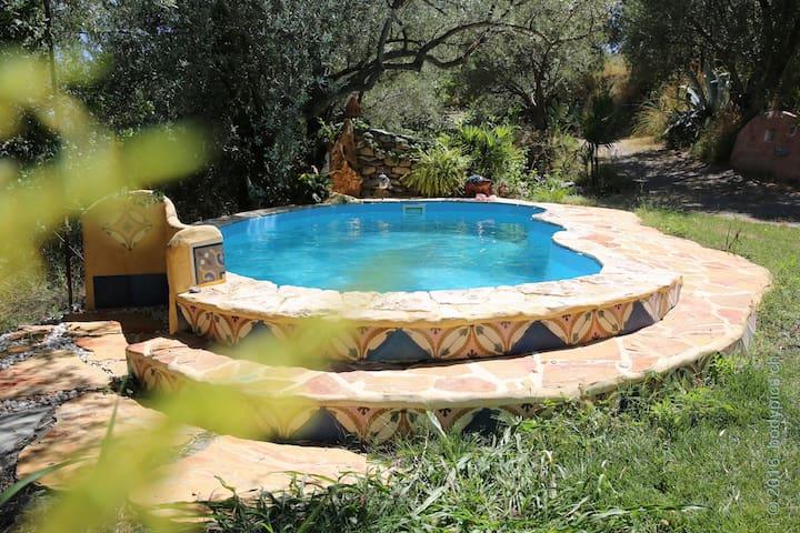 magical naturespace *Luna*, Alpujarra, Andalucia