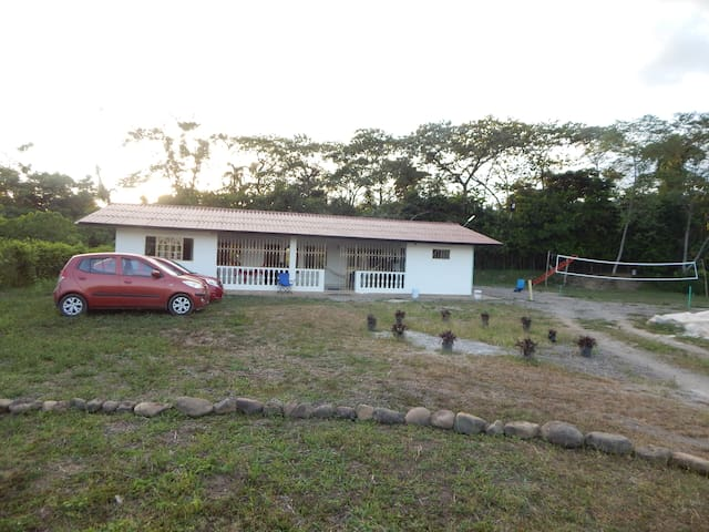 Casa de descanso con dos habitaciones