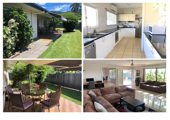 Clean & Green Edge Hill, 7 Mins to airport & CBD